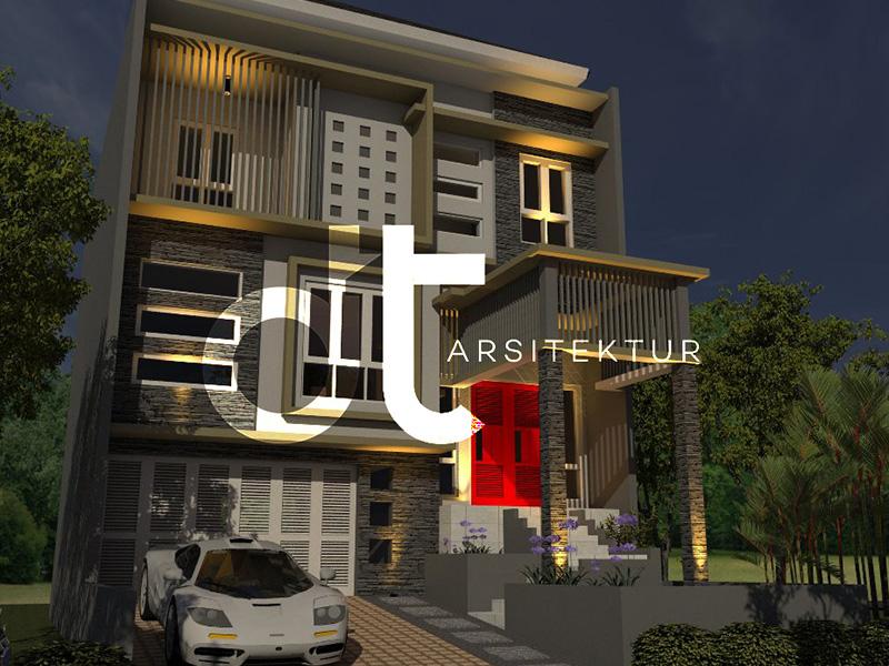 Gambar Desain Arsitektur dan Kontraktor Serpong