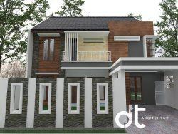 Desain Rumah Tinggal Daerah Serpong