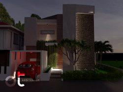 Desain Rumah Tinggal Daerah Bintaro