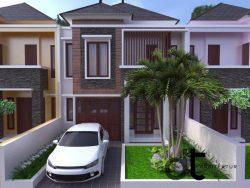 Desain Gambar Arsitektur Bangunan Rumah Karawaci