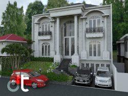 Desain Gambar Renovasi Tempat Tinggal Jakarta Utara