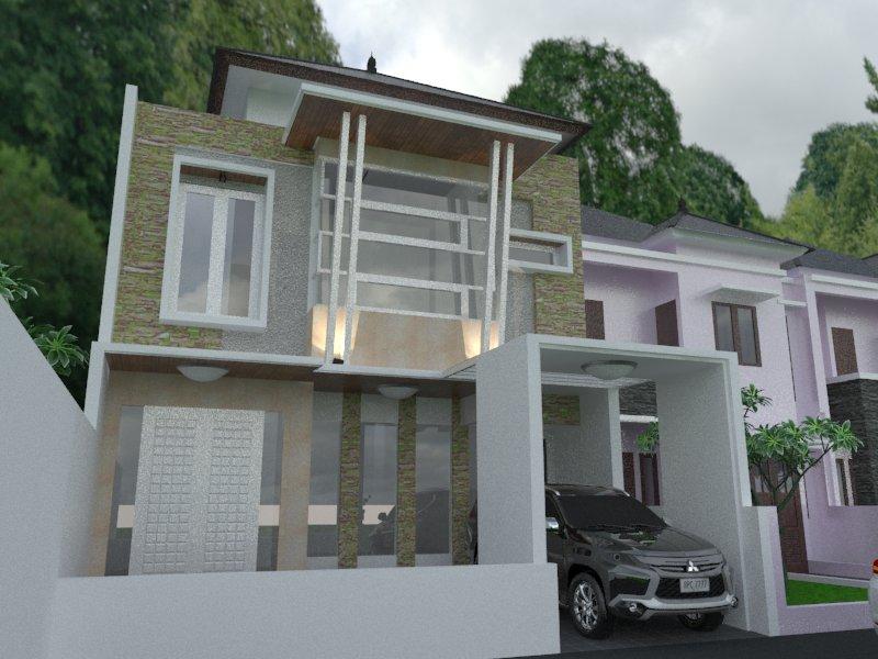 Desain Rumah Arsitektur Dan Pelaksanaan Bintaro