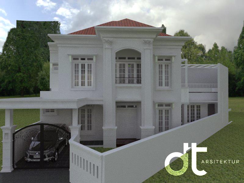 Desain Gambar Arsitek Untuk Renovasi Rumah Ciputat