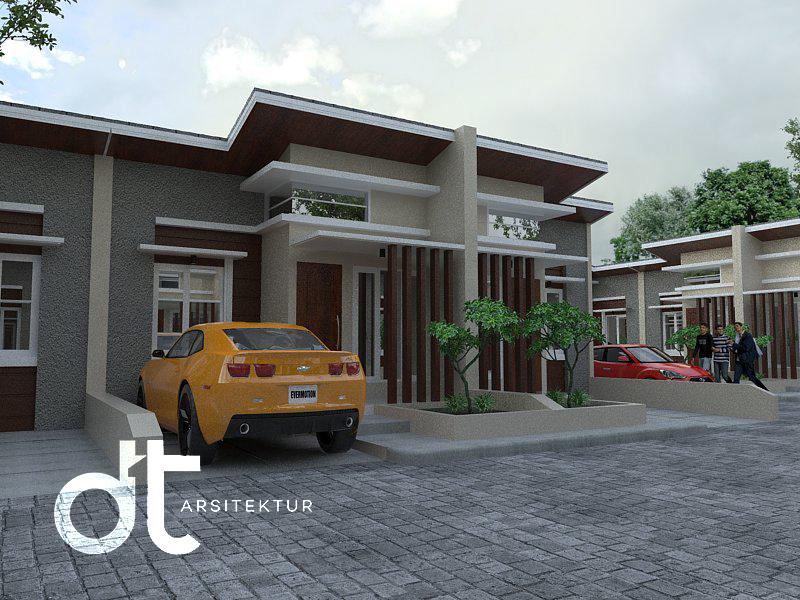 Desain Arsitektur Pelaksanaan Renovasi Bintaro