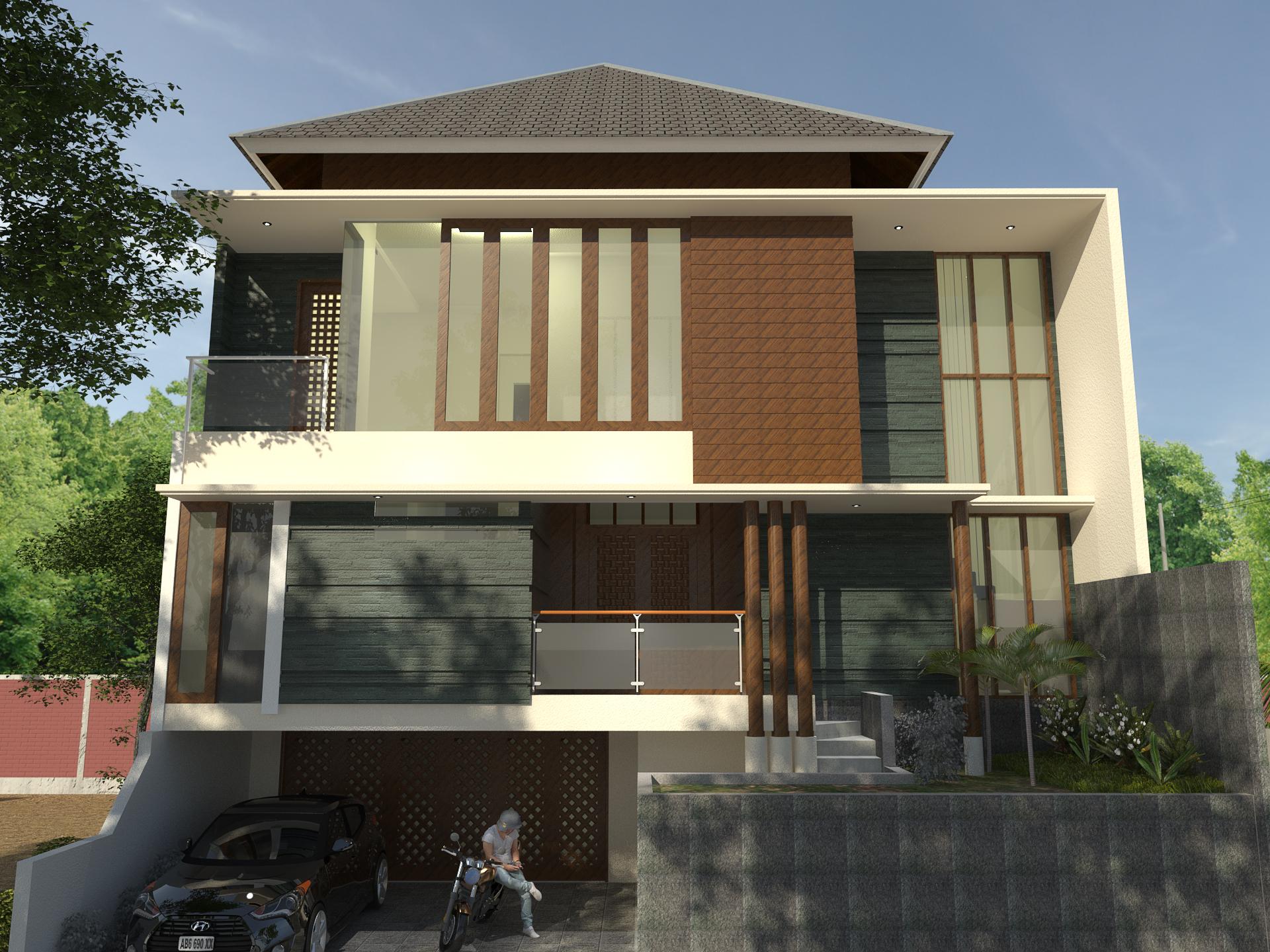 Desain Arsitektur Renovasi Rumah Jakarta Selatan Murah