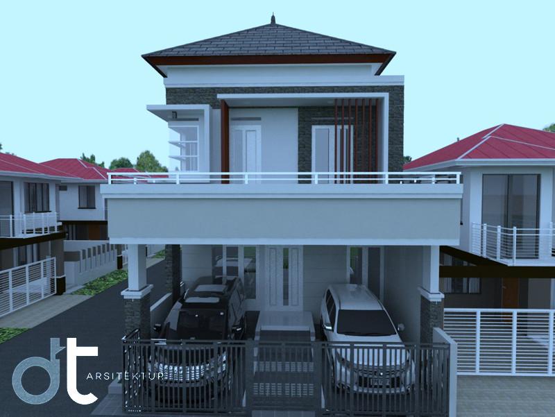 Desain Gambar Kerja Bangunan BSD Tangerang