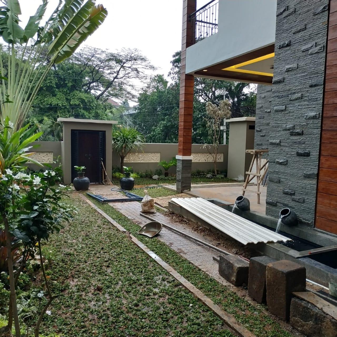 Desain Arsitektur Rumah Tinggal Daerah Serpong