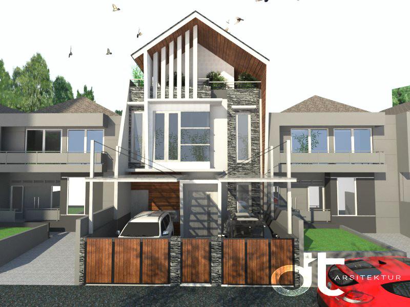 Desain Arsitektur Pelaksanaan Renovasi Ciputat